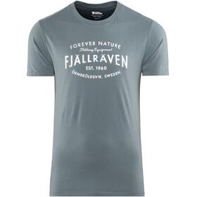 Fjällräven Est. 1960 - Camiseta manga corta Hombre - gris
